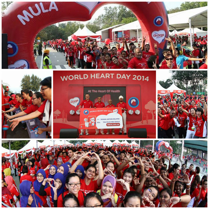 World Heart Day Malaysia collage